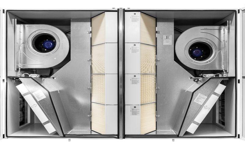 Климатични камери с рекуперация Duplex Flexi