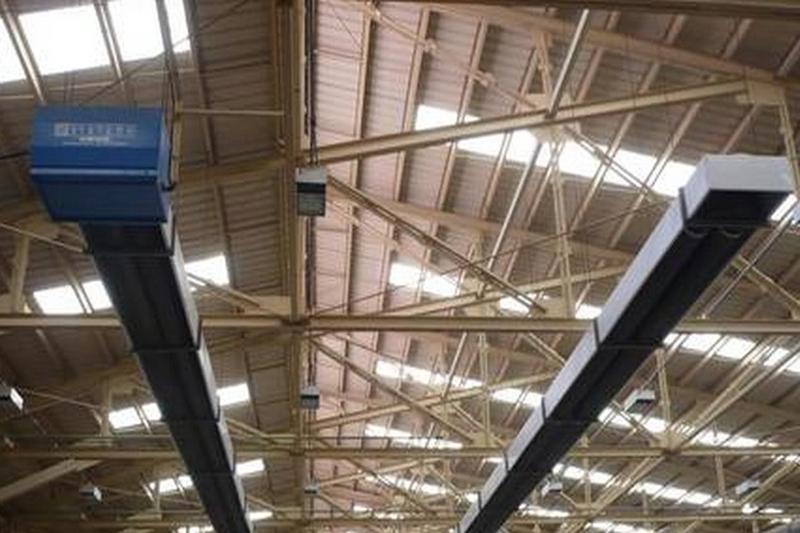 КлиВенТо достави инфрачервена лъчиста система за отопление OHA на Roca Group