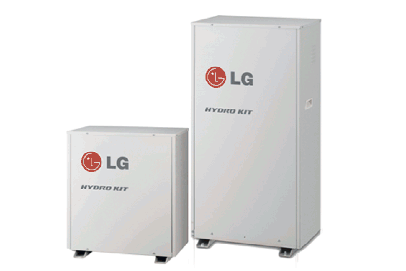 Гъвкавост и лесно управление чрез LG Hydro Kit за отопление и охлаждане