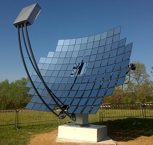 Systema оборудва със слънчеви концентратори изложението Expo <strong>Milano</strong>