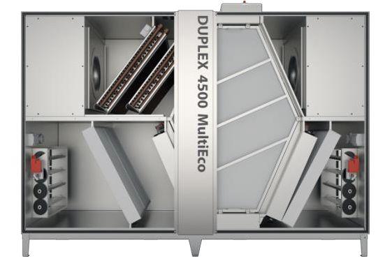 Ново поколение вентилационни модули DUPLEX Multi Eco