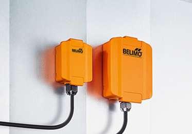 Новите сензори от Belimo - безпроблемна интеграция
