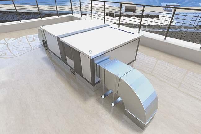 Въздухообработващи машини за външен монтаж DUPLEX Multi-N Rooftop