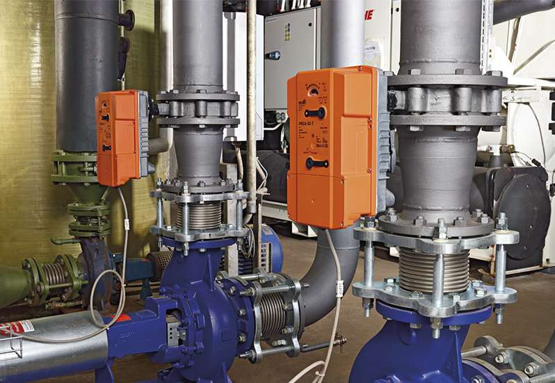 Kuhn Champignon внедри PR изпълнителни механизми Belimo в новия си завод
