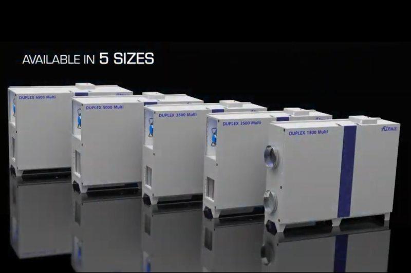 Въздухообработващи машини DUPLEX 1500 – 6500 Multi от Атреа