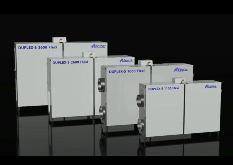 Гъвкави компактни климатични камери DUPLEX 1100–3600 Flexi