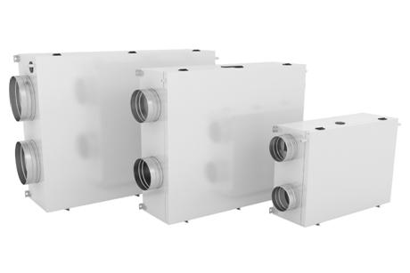 Системи за възстановяване на жилищна топлоенергия DUPLEX EC5 / ECV5