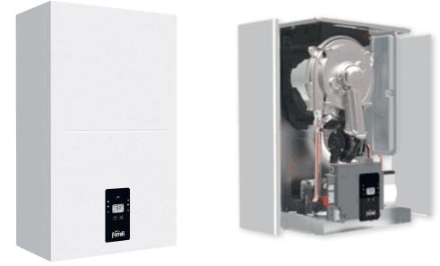 Кондензационен и високоефективен котел на газ BLUEHELIX ALPHA на Ferroli