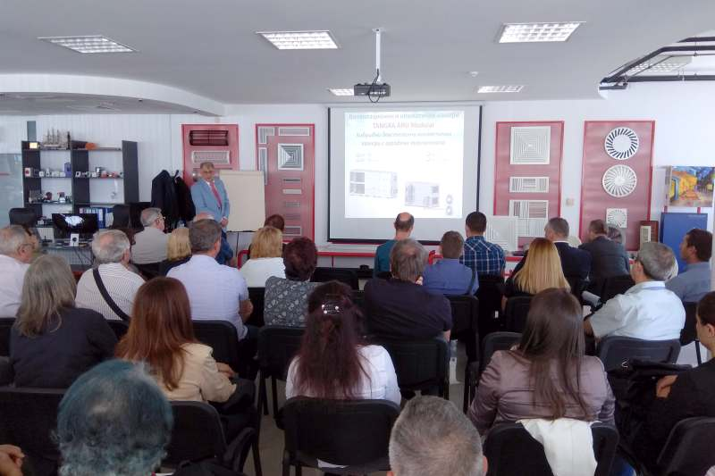 Тангра проведе семинар на тема енергийна ефективност чрез системи за ОВК