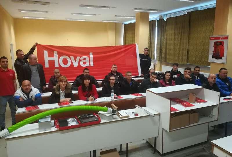 Hoval организира презентация за бъдещите ОВК инженери в ТУ-Габрово