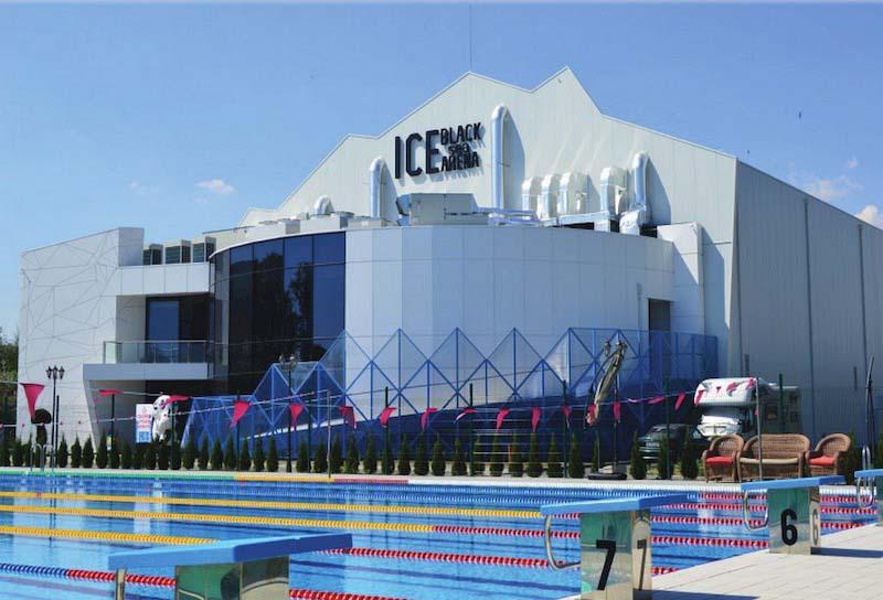 Белимо достави ОВК решения за комплекс Black Sea Ice Arena