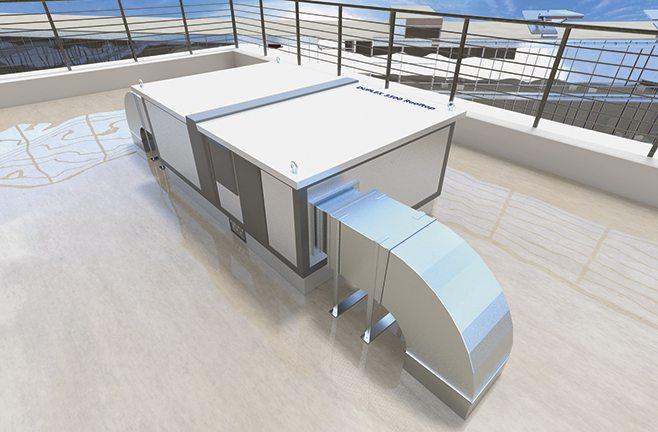 Въздухообработващи машини за външен монтаж DUPLEX MultiEco-N Rooftop