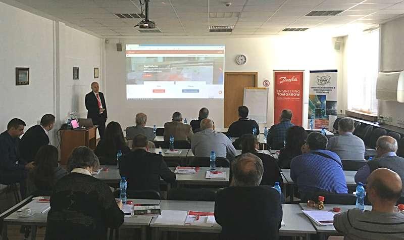Сегмент отопление на Данфосс България проведе 3 семинара в страната