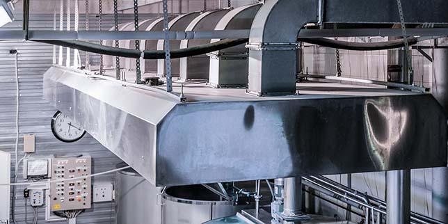 Индустриални системи за смукателна вентилация