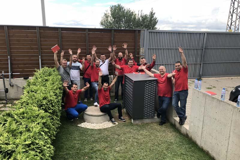 Hoval инсталира първата термопомпа UltraSource B Comfort C в България